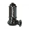 Pompe de Relevage Calpeda SBP 1500-6-200HT de 61,2 à 673,2 m3/h entre 13,3 et 2 m HMT Tri 400/700 V 12,3 kW
