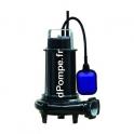 Pompe de Relevage Calpeda Dilacératrice GRE 200-2-50HM FB 3,6 à 21,6 m3/h entre 25,2 et 6,6 m HMT Mono 230 V 1,7 kW