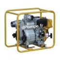 Motopompe Robin Subaru SWT 120 D Diesel de 6 à 114 m3/h entre 22,5 et 2,5 m HMT