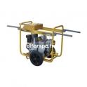 Motopompe Robin Subaru SWT 120 DL15 Brouette Diesel de 6 à 114 m3/h entre 22,5 et 2,5 m HMT