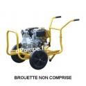 Motopompe Robin Subaru JET 70 D Diesel de 3 à 21 m3/h entre 48 et 10 m HMT