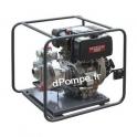 Motopompe Robin Subaru JET 100 D Diesel de 3 à 25,2 m3/h entre 83 et 10 m HMT