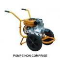 Brouette Chariot BRTE13 pour Motopompe Robin Subaru