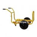 Brouette Chariot 4NC pour Motopompe Robin Subaru