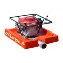 Motopompe Flottante Tsurumi AMPHI-1500 de 3 à 99 m3/h entre 44 et 2 m HMT Moteur Essence