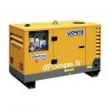 Groupe Électrogène Robin Subaru SILENTSTAR 13000D T AVR YN Diesel Triphasé-Monophasé 14,3 kVA 11,4 kW max