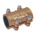 Collier de Réparation Laiton pour Tube Cuivre Ø 15 mm Extérieur Longueur 50 mm