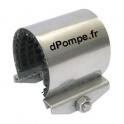Collier de Réparation Inox 304 pour Tube Ø 26 à 30 mm Longueur 60 mm