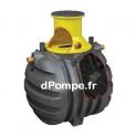 Fosse Toutes Eaux Polyéthylène 3000 litres pour 6 Personnes