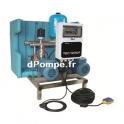 Recuperateur Eaux de Pluie Calpeda GEP TWIN MAT 80 RP 2 a 7 m3/h entre 40 et 15 m HMT 230 V 2 x 0,75 kW