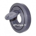 Clapet à Battant PVC Pression Entre Brides Joints EPDM Ø 90