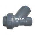 Clapet à Boule PVC Pression Femelle Femelle à Coller Ø 32