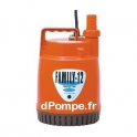 Pompe Serpillère Tsurumi FAMILY 12 de 1 à 4,5 m3/h entre 5,7 et 1 m HMT Mono 230 V 0,1 kW