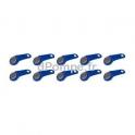 10 Clefs Électroniques Bleues Véhicules Piusi