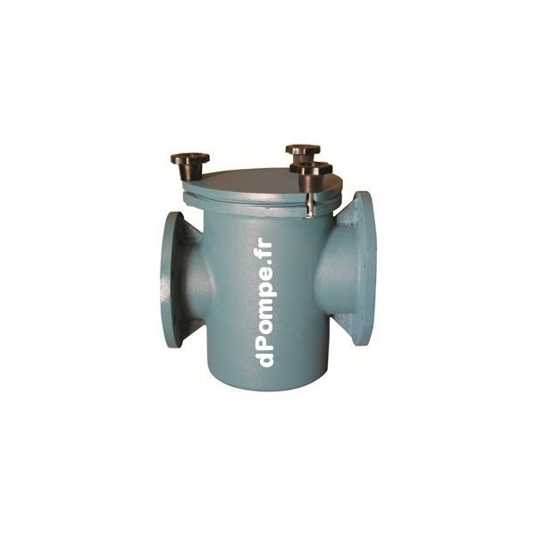 Prefiltre calpeda fonte pff 150 pour pompe piscine 120 m3 h for Prefiltre pompe piscine