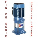 Destockage Pompe de Surface Pedrollo Multicellulaire Verticale MK 8/4 de 2,4 à 10,8 m3/h entre 54 et 15 m HMT Tri 230/400 V 1,5