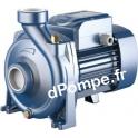 Pompe de Surface Pedrollo Monocellulaire HF 51A de 3 à 18 m3/h entre 20,2 et 8,4 m HMT Tri 230-400 V 0,75 kW
