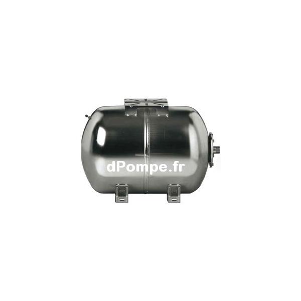 R servoir vessie inox 304 rvi 18h10 horizontal 18 litres 10 bars - Reservoir a vessie ...