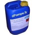 Bidon 10 litres Stérilisant pour Résine Adoucisseur