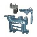 "Pied d'Assise Coude Fonte Calpeda SA-DN65 pour Pompe GMC GMV GQV Barre de Guidage 2"""