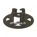 Base de Soutien BASE 2 Hauteur 145 mm x D 456 mm pour pompe DRN MAN DGN