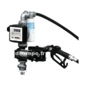 Groupe de Transvasement ATEX PIUSI DRUM EX50 12 V DC avec Pistolet Automatique et Compte-litres K33