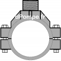 """Collier de Prise en Charge Aluminium Ø 100 mm Mâle 1"""" (26 x 34)"""