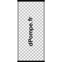 Cartouche pour Filtronet ou Filtrofly Ø 80 mm long. 392 mm