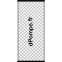 Cartouche pour Filtronet ou Filtrofly Ø 100 mm long. 492 mm