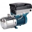 Pompe de Surface Calpeda MXHL EI 802 Inox 316 de 5 à 13 m3/h entre 20,5 et 8,5 m HMT Tri 400 V 0,75 kW