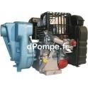 Motopompe Thermique Calpeda 03 RA-D à Roue Ouverte Moteur Diesel