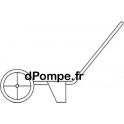 Brouette Calpeda LOUVE pour Pompe ORA