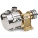 Pompe à Poulie Inox Calpeda AL25 de 0,6 à 2,4 m3/h entre 9,4 et 1,9 m HMT