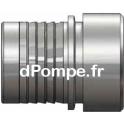 Raccord Cannelé Acier Usiné Ø 100/102 mm Norme EN 14420-2