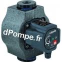 """Circulateur Calpeda Automatique NCE EA 15-40/130 de 0,5 à 3 m3/h entre 3,9 et 0,2 m HMT Mono 230 V Fileté 1"""" (26 x 34) Entraxe 1"""