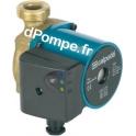 Circulateur Calpeda Eau Chaude NCE PS 20-40/130 Fileté 0,5 a 2,5 m3/h entre 3,3 et 0,7 m HMT 230 V Entraxe 130 mm