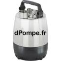 Pompe de Relevage Calpeda MP 203 de 1 à 5 m3/h entre 27,5 et 7 m HMT Tri 400 V 0,37 kW