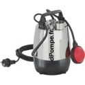 Pompe de Relevage Calpeda MPM 401 de 2,25 à 7,2 m3/h entre 9,2 et 3,3 m HMT Mono 230 V 0,25 kW