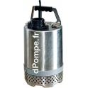 Pompe de Chantier Calpeda KPM 50.04M de 1,8 à 12,6 m3/h entre 11 et 3 m HMT Mono 230 V 0,4 kW