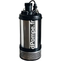 Pompe de Chantier Calpeda KPM 100.55T de 9 à 90 m3/h entre 22 et 9 m HMT Tri 400 V 5,5 kW