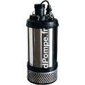 Pompe de Chantier Calpeda KPM 100.110T de 9 à 108 m3/h entre 47 et 10 m HMT Tri 400 V 11 kW