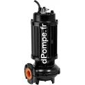 Pompe de Relevage Calpeda VLP 550-2-50HT de 7,2 à 72 m3/h entre 25,2 et 3,2 m HMT Tri 400 V 4,9 kW 2900 tr/mn