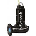 Pompe de Relevage Calpeda DRN 550/2/80HT Multi-Canaux Fonte 14,4 a 115,2 m3/h entre 20,7 et 3,9 m HMT TRI 400 V 4,1 kW