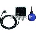 Alarme trop Plein Calpeda AL230V 2 pour Poste de Relevage avec Coffret CATP 230 volts et Flotteur 2 metres