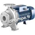 Pompe de Surface Pedrollo Monobloc Inox 316 à Brides FI 50/160B-I de 18 à 66 m3/h entre 33 et 21 m HMT Tri 400/690 V 5,5 kW