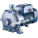 Pompe de Surface Pedrollo Bicellulaire 2CP 25/130N de 1,8 à 6 m3/h entre 37 et 15 m HMT Tri 230/400 V 0,75 kW
