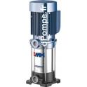 Pompe de Surface Pedrollo Multicellulaire Verticale MK 3/4-N de 1,2 à 4,8 m3/h entre 65,5 et 38 m HMT Tri 230 400 V 1,1 kW IE2