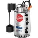 Pompe de Drainage Pedrollo RXm 3 GM de 3,6 à 13,2 m3/h entre 9,5 et 3 m HMT Mono 220/240 V 0,55 kW