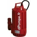 Pompe de Relevage Pedrollo HYDRO 10 T de 5 à 20 m3/h entre 16 et 6 m HMT Tri 400 V 1 kW