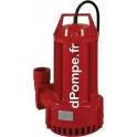Pompe de Relevage Pedrollo HYDRO 20 T de 5 à 50 m3/h entre 16,2 et 2 m HMT Tri 400 V 1,8 kW
